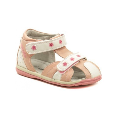 Wojtylko 2S1352 růžové dívčí sandálky Růžová