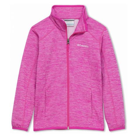 Mikina Columbia Wilderness Way™ Fleece Jacket - růžová