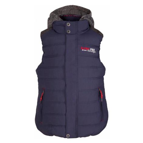 Dětská vesta Alpine Pro JARVISO - tmavě modrá
