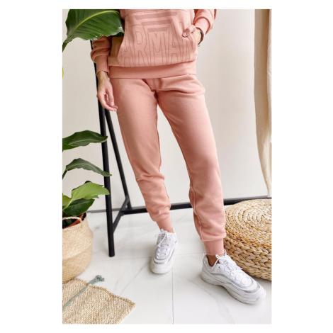 Emporio Armani Underwear Emporio Armani Power Terry tepláky dámské - růžová