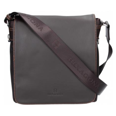 Pánská taška přes rameno Hexagona 299156 - hnědá