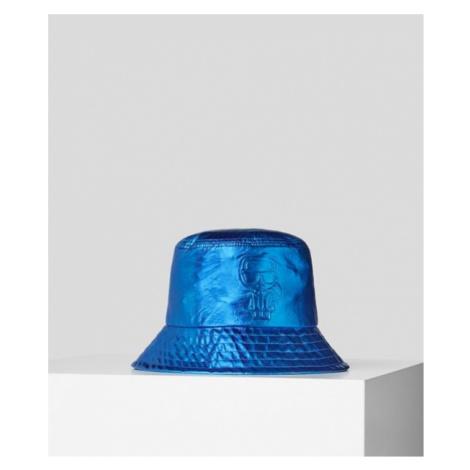Klobouk Karl Lagerfeld K/Ikonik Metallic Bucket Hat