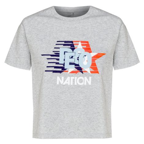 Tričko P.E Nation AERIAL TEE šedá