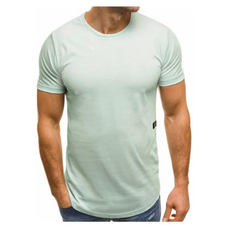 Buďchlap Atraktivní mentolové tričko  B/181227