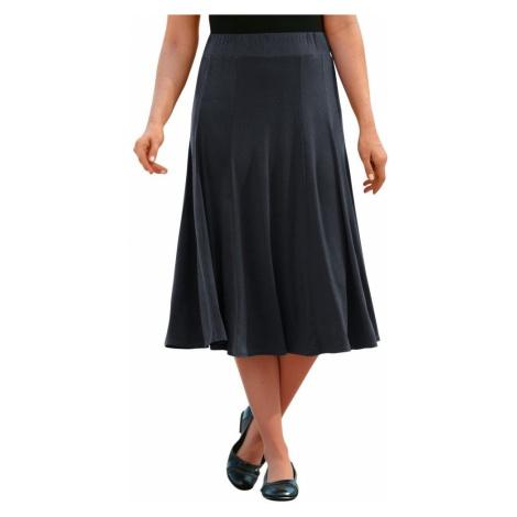 Vzdušná sukně šedá
