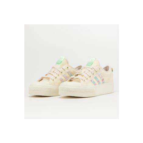 adidas Originals Nizza Platform W cwhite / cwhite / frogrn