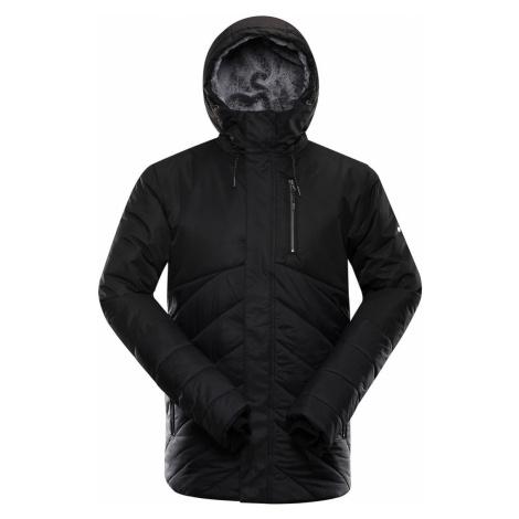 ALPINE PRO GABRIELL 4 Pánská zimní bunda MJCS433990 černá