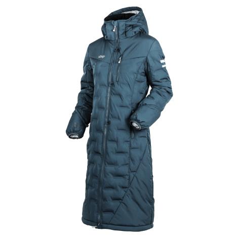Kabát zimní jezdecký Ice UHIP, dámský, stormy weather blue