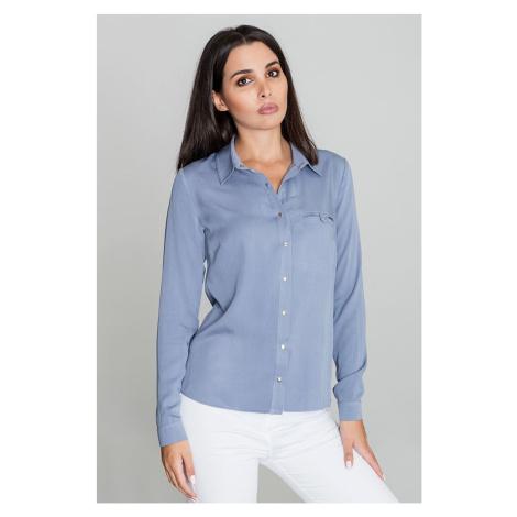 Košile s dlouhým rukávem model 111031 Figl