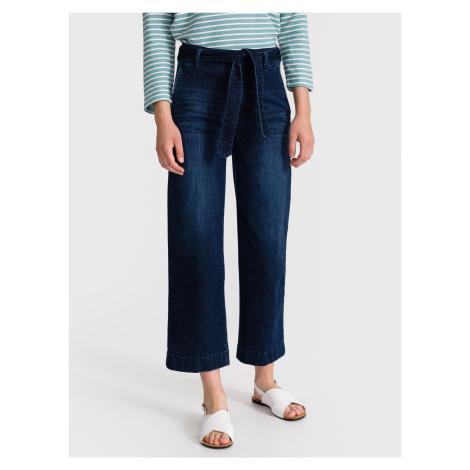 Culotte Jeans Tom Tailor Modrá