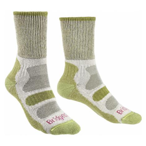 Dámské turistické ponožky Bridgedale Hike LW CoolMax Comfort Green