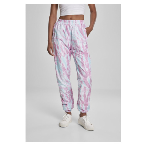 Kalhoty Urban Classics Ladies Tie Dye Track Pants