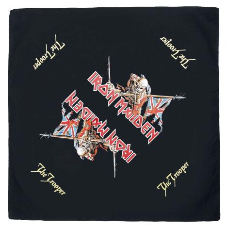 Iron Maiden The trooper - Bandana Bandana - malý šátek vícebarevný