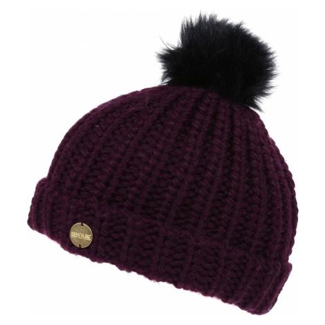 Dámská zimní čepice Regatta LOVELLA Hat II vínová