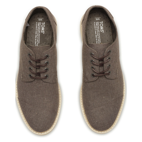 BROGUE-Grey Chambray MEN Toms