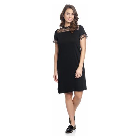 Večerní krajkové šaty černé Vive Maria Victorian