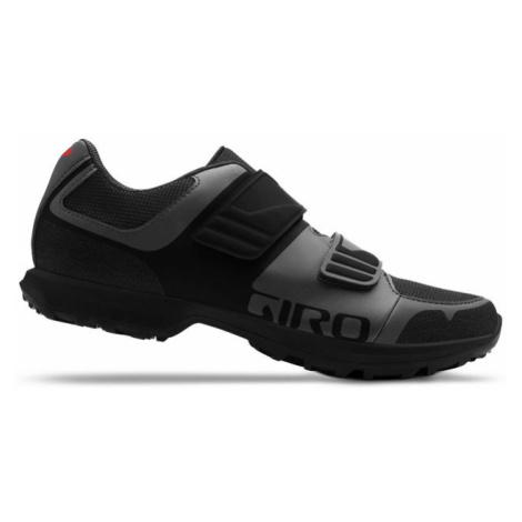 Cyklistické tretry GIRO Berm šedo-černé