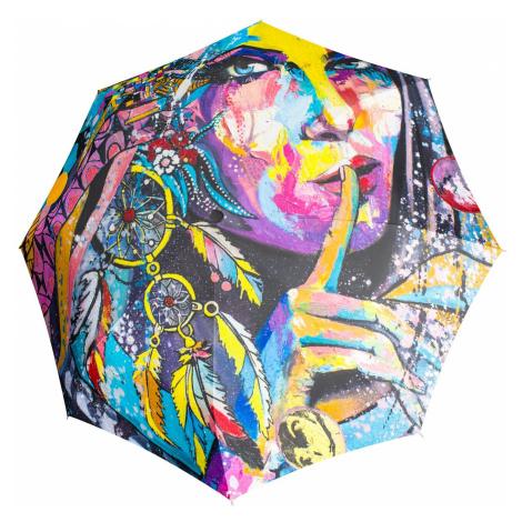 Barevný plně automatický skládací deštník Fantasia Doppler