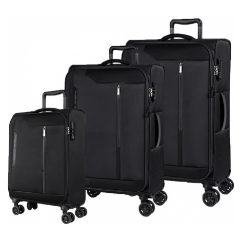 March Sada cestovních kufrů Stardust S + M + L, černá