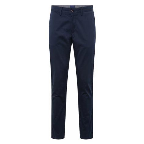 GANT Chino kalhoty marine modrá
