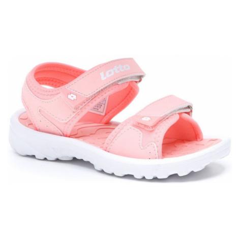 Lotto LAS ROCHAS IV CL růžová - Juniorské sandály