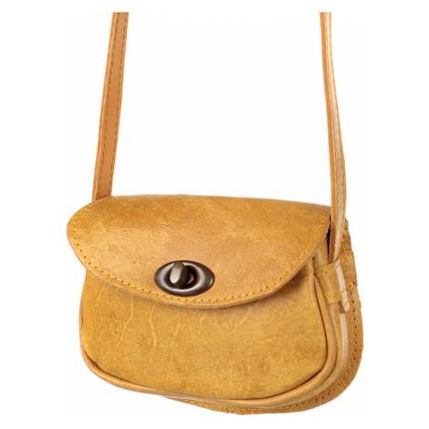 Vintage mini kožená kabelka listonoška