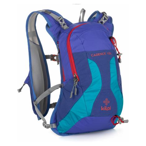 KILPI Cyklistický a běžecký batoh 10L CADENCE-U MU0042KIDBL Tmavě modrá UNI