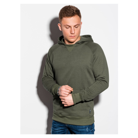 Ombre Clothing Men's hooded sweatshirt B1085