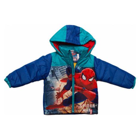 SPIDERMAN MODRÁ CHLAPECKÁ BUNDA S POTISKEM Spider-Man