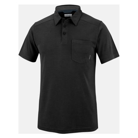 Tričko Columbia un Ridge™ II Novelty Polo M - černá