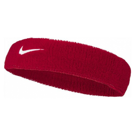 Nike SWOOSH HEADBAND červená - Čelenka