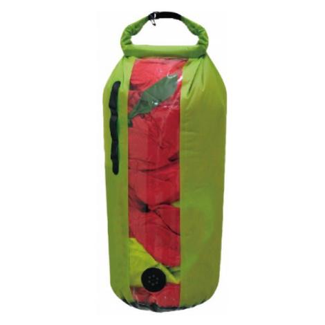 Yate DRY BAG s oknem a ventilem Nepromokavý vak S, zelená