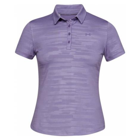 Under Armour Zinger Short Sleeve Novelty Polo Dámské triko 1326889-520 Kinetic Purple
