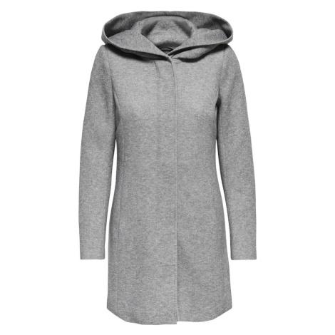 ONLY Přechodný kabát 'Sedona' světle šedá