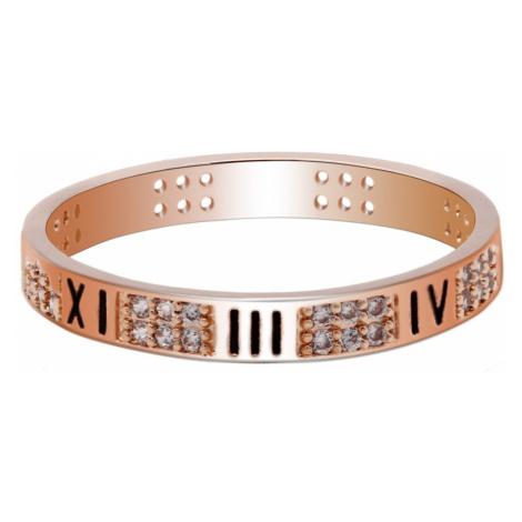 Anna Grace prstýnek Gold Sparkle Crystal 93 - 18 mm