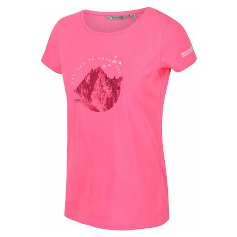 Dámské tričko Regatta BREEZED růžová