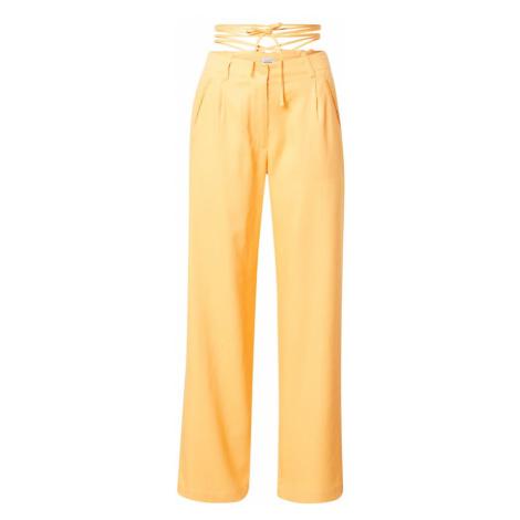 Pimkie Kalhoty se sklady v pase oranžová