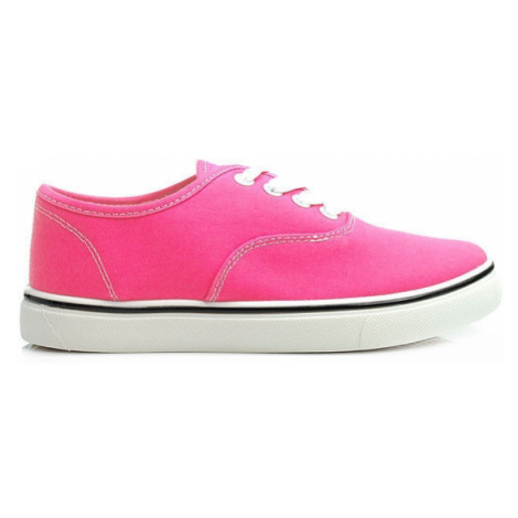 Zářivé růžové tenisky CNB