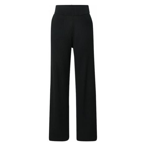 Guido Maria Kretschmer Collection Kalhoty 'Fleur' černá
