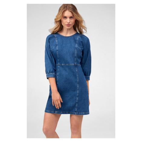 Denimové mini šaty Orsay