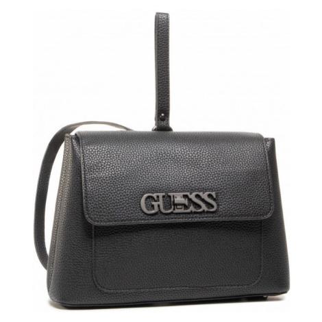 Guess GUESS dámský malý černý batoh UPTOWN CHIC