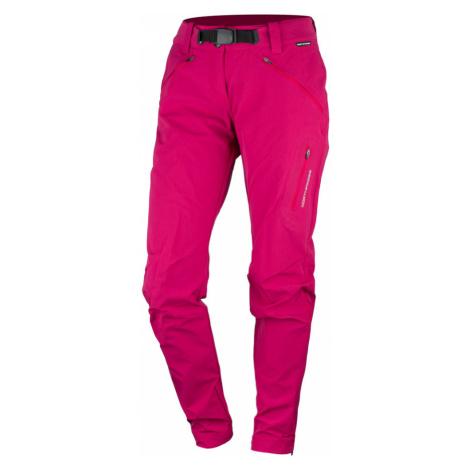 NORTHFINDER KOLINA Dámské outdoorové kalhoty NO-4693OR366 růže
