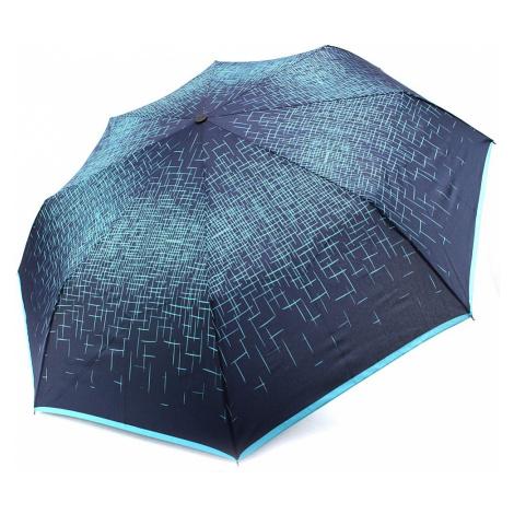 Modrozelený skládací plně automatický dámský deštník Kynlee Doppler