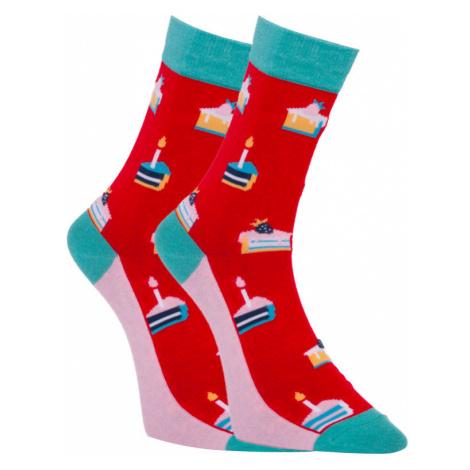 Veselé ponožky Dots Socks dortíky (DTS-SX-461-W) L