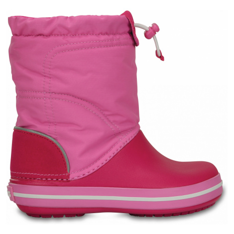 Crocs Crocband LodgePoint Boot K Candy Pink/Party Pink J6