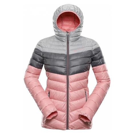 Dámská hi-therm bunda Alpine Pro MERVA - světle růžová