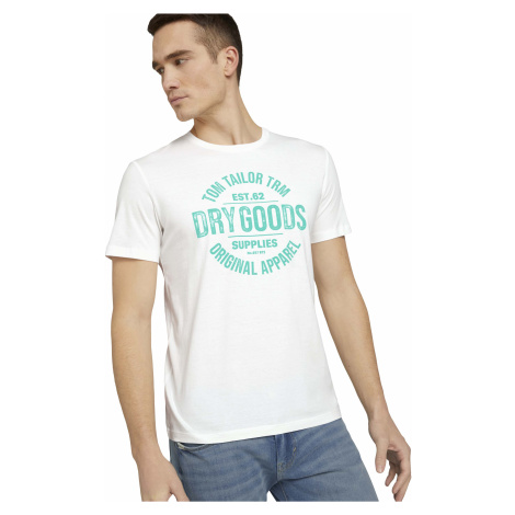 Tom Tailor pánské triko s nápisem 1026193-10332