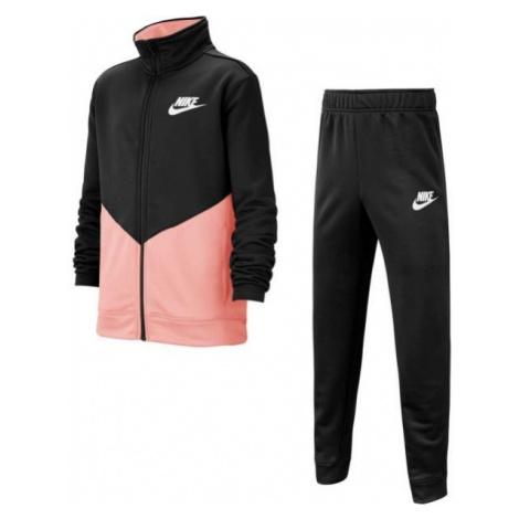 Nike B NSW CORE TRK STE PLY FUTURA růžová - Dětská sportovní souprava