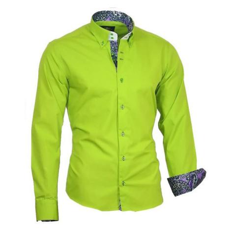 BINDER DE LUXE košile pánská 86004 dlouhý rukáv