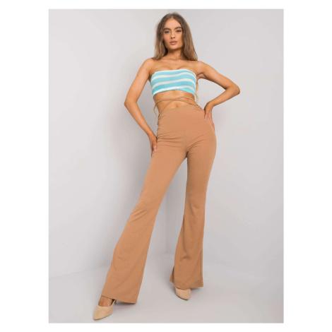 Velbloudí široké kalhoty FPrice